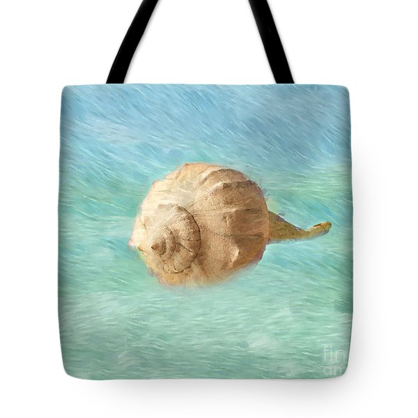 Tote Bag featuring the photograph Melody Of The Sea by Betty LaRue