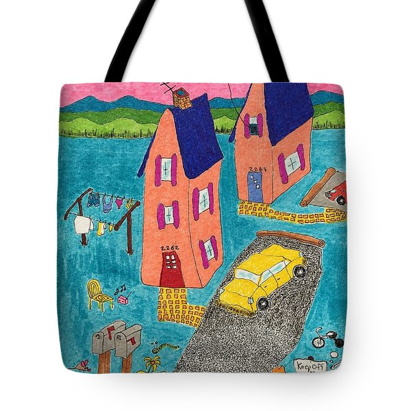 Melon Houses Tote Bag