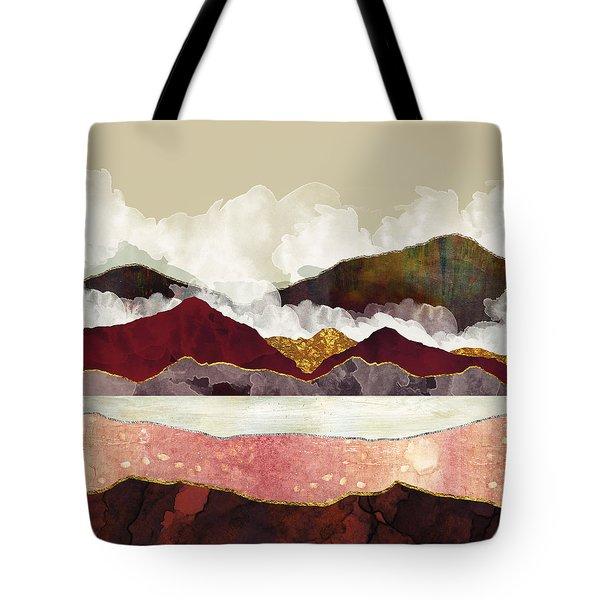 Melon Mountains Tote Bag