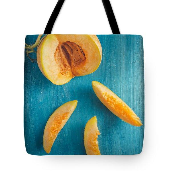 Melon Slices Tote Bag