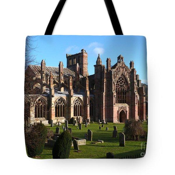 Melrose Abbey  Tote Bag