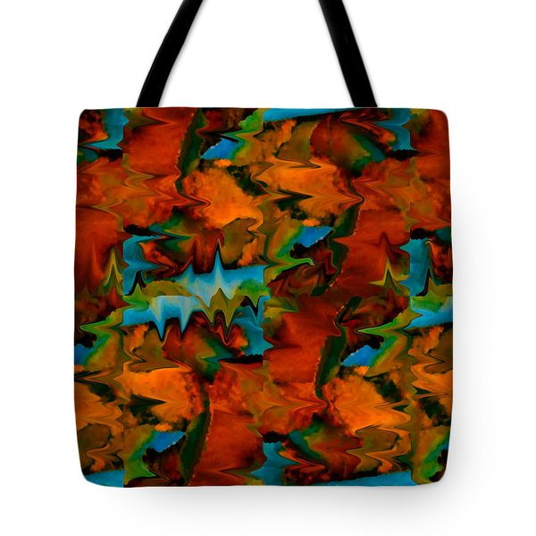 Meltdown Tote Bag by Stephen Anderson