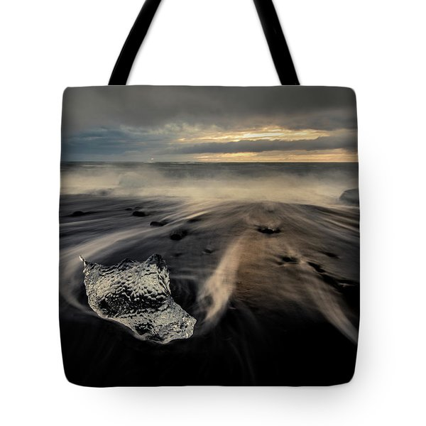 Tote Bag featuring the photograph Melted At Dawn by Rikk Flohr