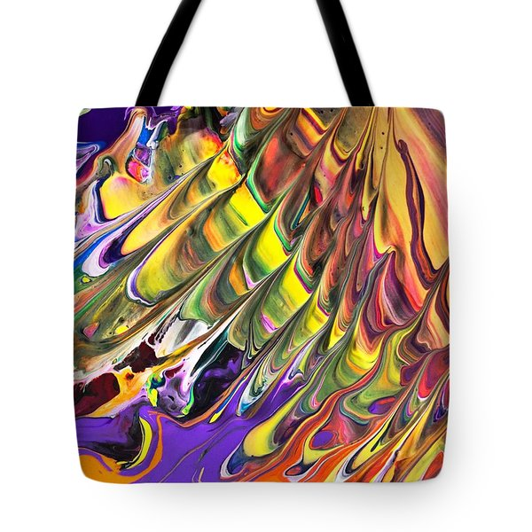 Melted Swirl Tote Bag