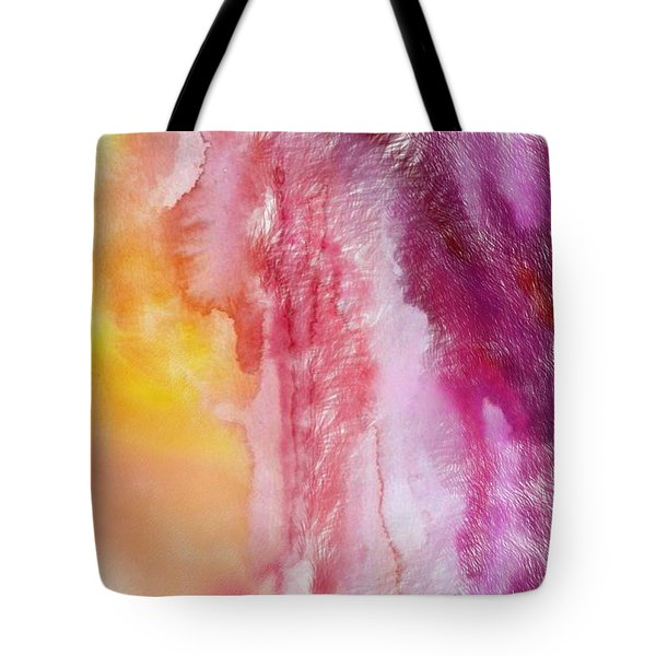 Tote Bag featuring the painting Melting by Mark Taylor