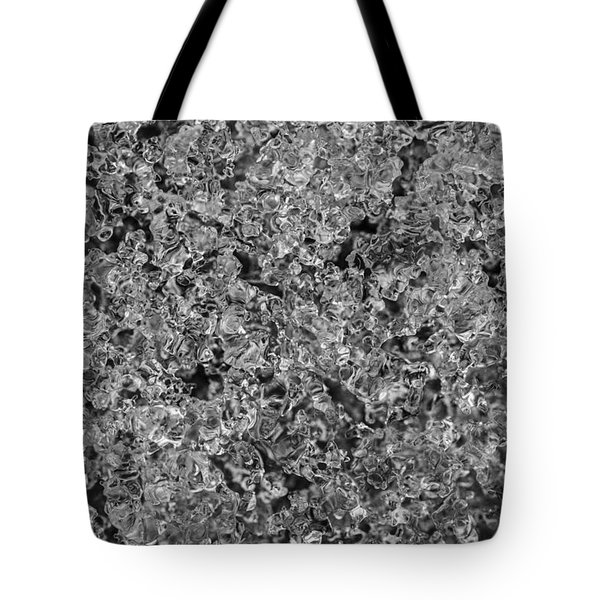 Tote Bag featuring the photograph Melting Snow by Chevy Fleet