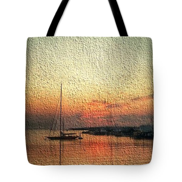 Melting Suneset  Tote Bag