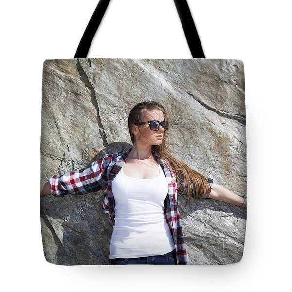 Melting The Rock Tote Bag