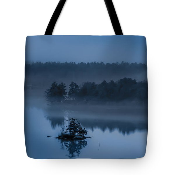 Melvin Bay Blues Tote Bag