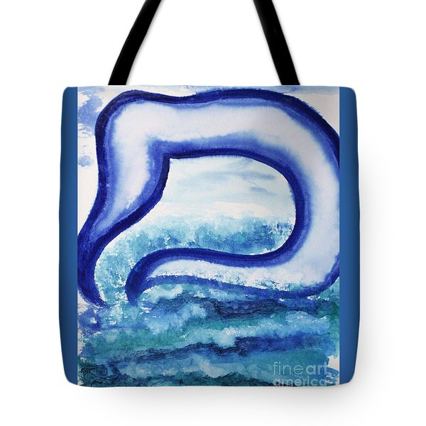 Mem In The Sea Tote Bag