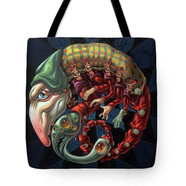 Memento Mori. Red Scorpion Tote Bag