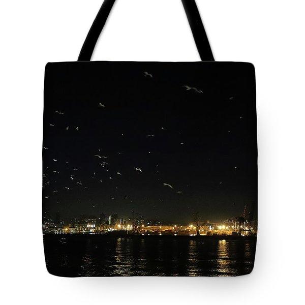 Memorable Naples Evening Departure Tote Bag