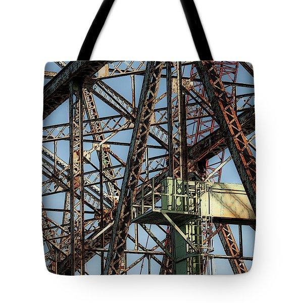 Memorial Bridge Tote Bag