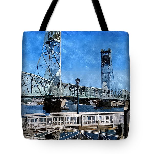 Memorial Bridge Mbwc Tote Bag
