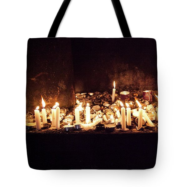 Memorial Candles Tote Bag