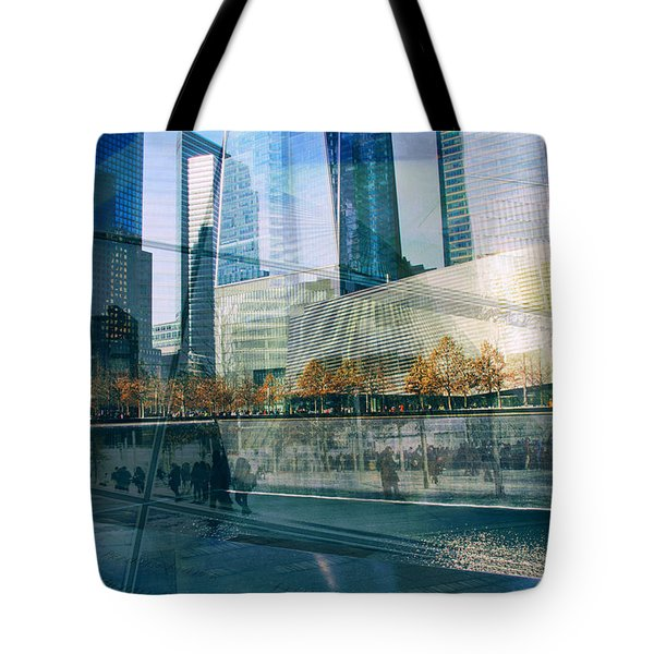 Tote Bag featuring the photograph Memorial Collage by Jessica Jenney