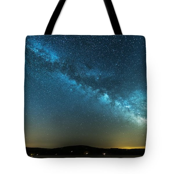 Memorial Day Milky Way Tote Bag