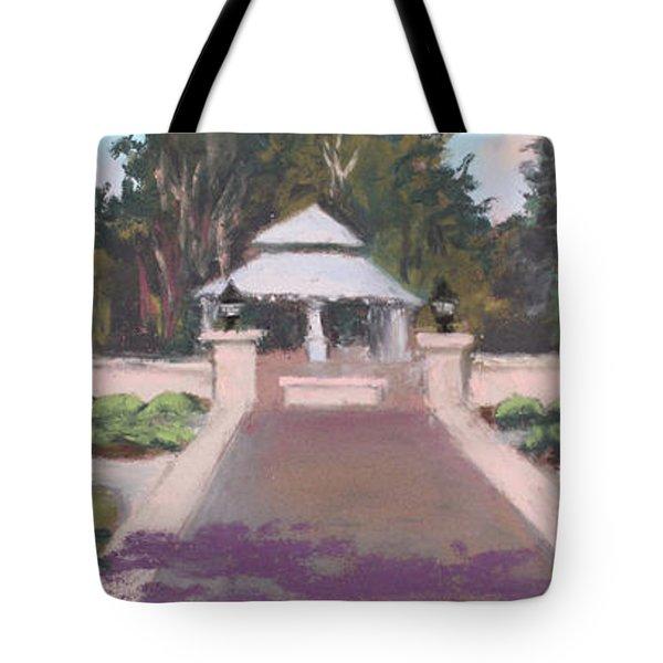 Memorial Garden Lakeside, Ohio Tote Bag by Terri  Meyer