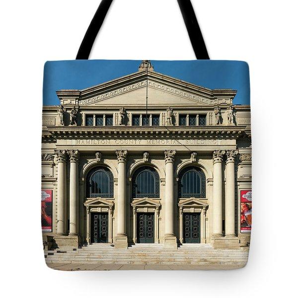 Memorial Hall Tote Bag