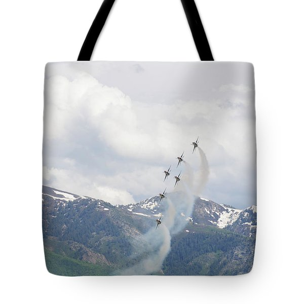 Tote Bag featuring the photograph Memorial Pass by Bryan Carter