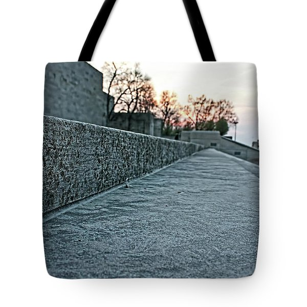 Memorial Steps Tote Bag
