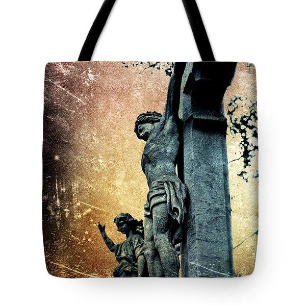 Memorializing Tote Bag by Scott Wyatt