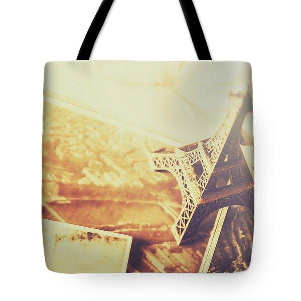 Memories And Mementoes Of Travelling France Tote Bag