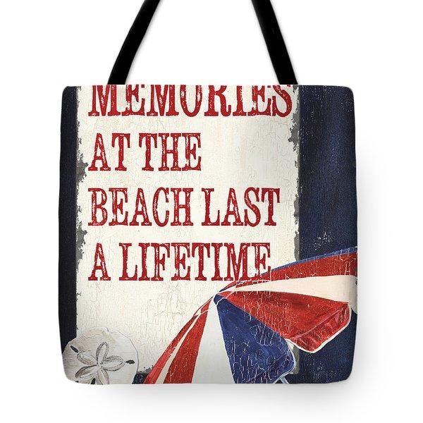Memories At The Beach Tote Bag