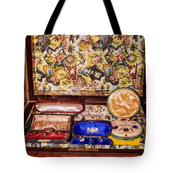 Memories Box Of Steampunk Treasures Tote Bag