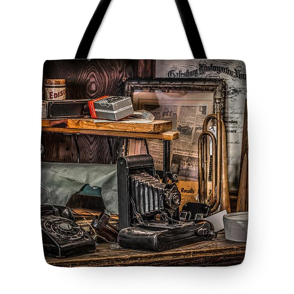 Memories For Sale Tote Bag by Ray Congrove
