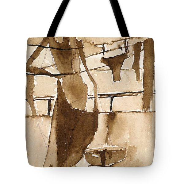 Memories From Childhood Tote Bag