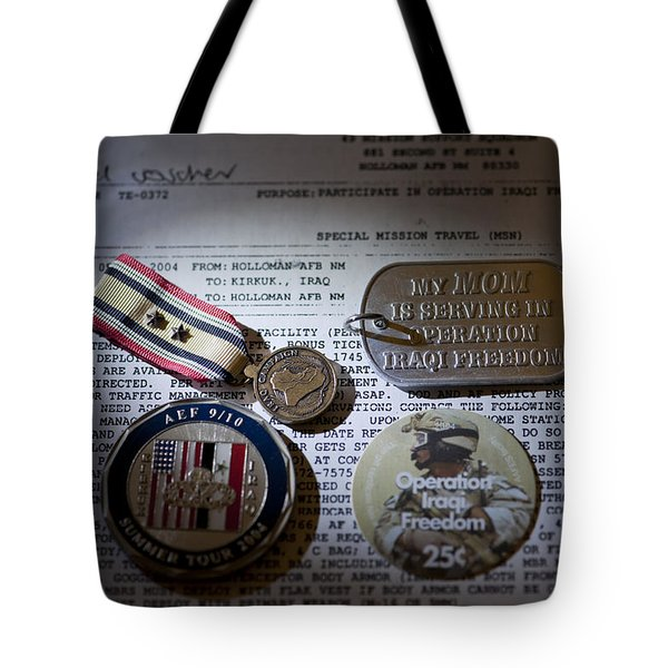 Tote Bag featuring the photograph Memories Of A Past Life by Melany Sarafis