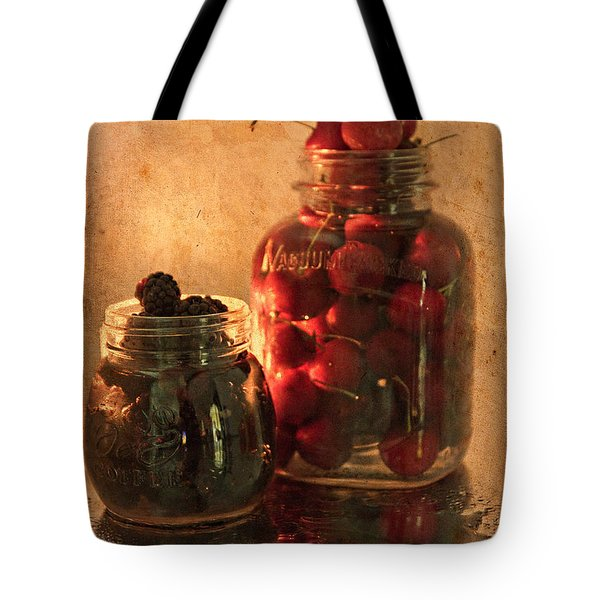 Memories Of Jams, Preserves And Jellies  Tote Bag by Sherry Hallemeier