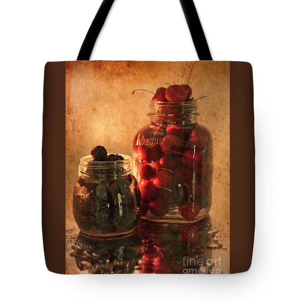Memories Of Jams, Preserves And Jellies  Tote Bag