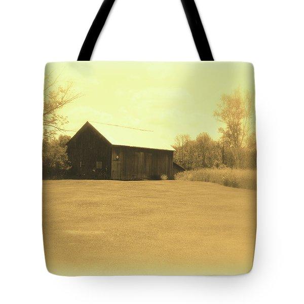 Memories Of Long Ago - Barn Tote Bag