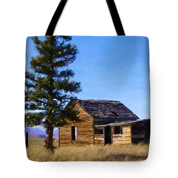 Memories Of Montana Tote Bag