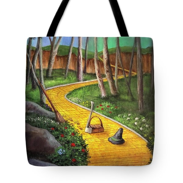 Memories Of Oz Tote Bag
