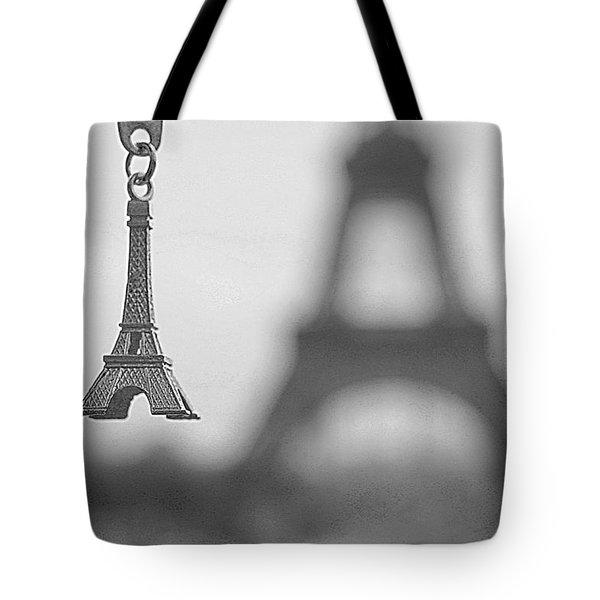 Memories Of Paris Tote Bag