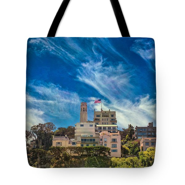 Tote Bag featuring the photograph Memories Of San Francisco by John M Bailey