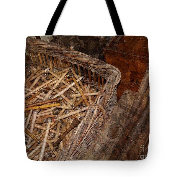Memories Of Spinning Cotton Tote Bag