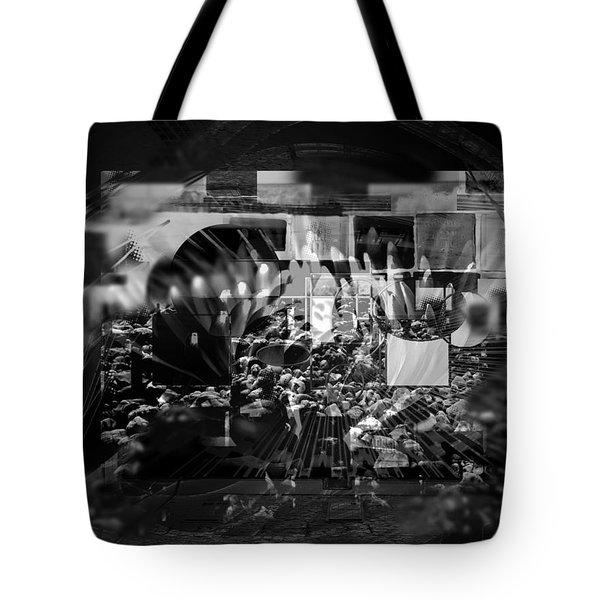 Tote Bag featuring the digital art Memories Souvenirs by Art Di