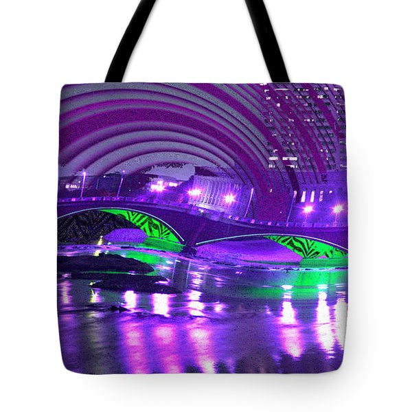 Tote Bag featuring the digital art Memory 2142 by Brian Gryphon