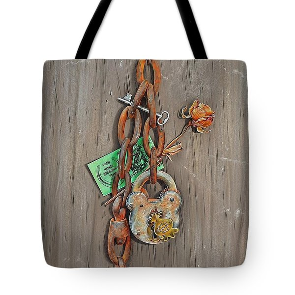 Memory Board Tote Bag by Elena Kolotusha