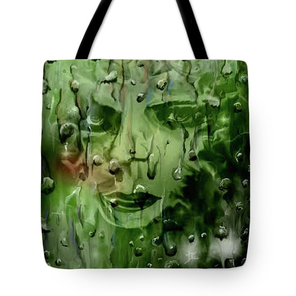 Tote Bag featuring the digital art Memory In The Rain by Darren Cannell