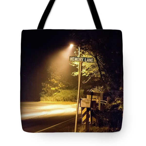 Tote Bag featuring the photograph Memory Lane by Geoffrey C Lewis