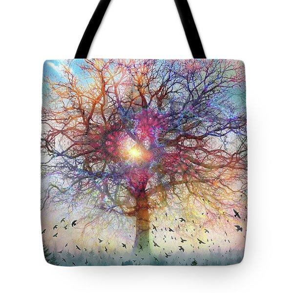 Memory Of A Tree Tote Bag