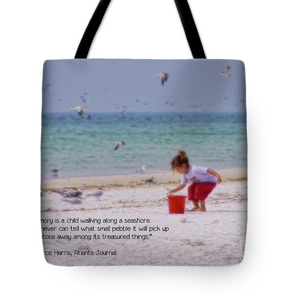Tote Bag featuring the photograph Memory by Peggy Hughes