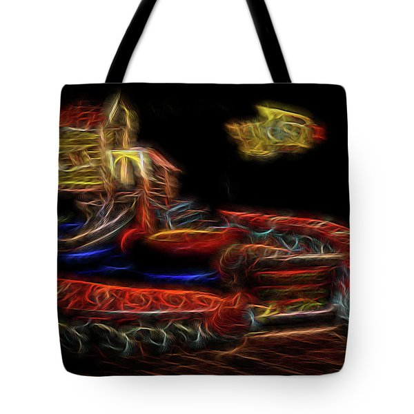 Memory's Playground Tote Bag by William Horden