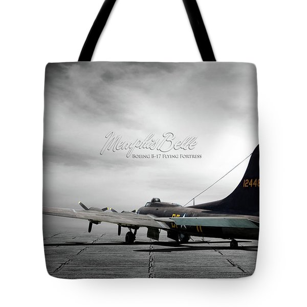 Memphis Belle Boeing B-17 Flying Fortress Tote Bag