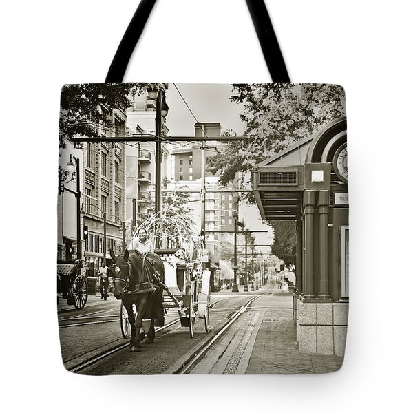 Memphis Carriage Tote Bag